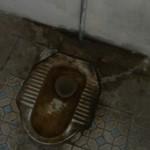 Die Hygiene lässt auf öffentlichen Toiletten in Vietnam manchmal zu wünschen