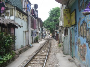 Das Old Quarter in Hanoi hat noch einen gewachsenen Stadtteil