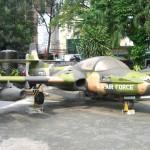 War Remnants Museum in Saigon: US Air Force Flugzeug