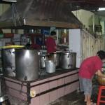 Küchenszene in Ho-Chi-Minh-City