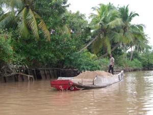 Erde ist im Mekong Delta ein wichtiges und wertvolles Gut