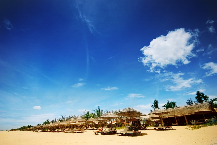 China Beach in Vietnam