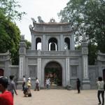 Eingang zum Literaturtempel in Hanoi