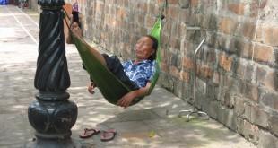 Das Leben in Vietnam auch mal ruhiger angehen lassen...