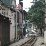 In Hanoi merkt man, dass die Stadt stark gewachsen ist in den letzten Jahren