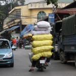 Pragmatische Transportmethoden sind in Vietnam an der Tagesordnung