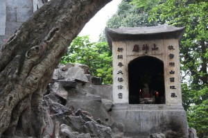 Gedenkstätte im Old Quarter von Hanoi