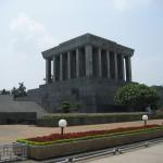Das Ho-Chi-Minh-Mausoleum ist nur an wenigen Tagen zugänglich