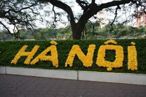 Hanoi fängt mit der Eigenvermarktung langsam an...