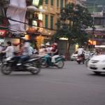 Der Verkehr ist nicht nur im ehemaligen Saigon chaotisch