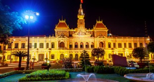 Die City Hall in Ho Chi Minh City