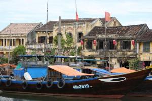 Der Kanal wurde in Hoi-An schon früh genutzt