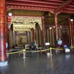Innerhalb des ehemaligen Palastes in Hue
