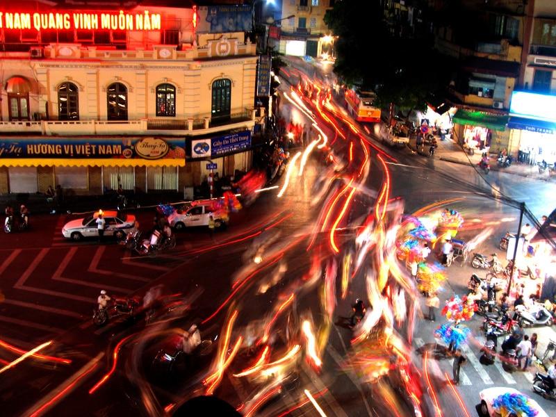 Ho-Chi-Minh-City ist die beschäftigste und hektischste Stadt in Vietnam
