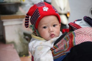 Hmong-Baby in Sapa