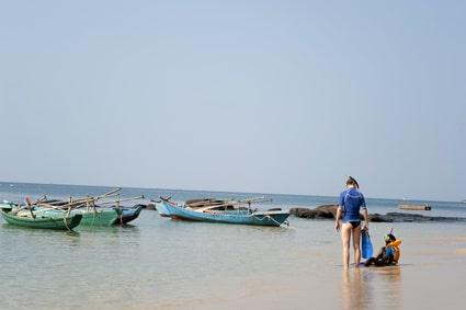 Baden kann man an den Küsten von Vietnam fast überall...