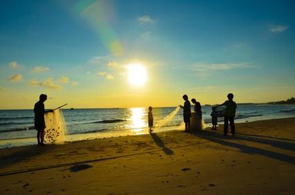 Die Inseln von Vietnam bieten viel Erholung....