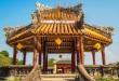 Die Pagode im Imperial Palace von Hue