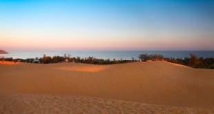 Die roten Sanddünen von Mui Ne sollte man besucht haben...