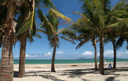Nicht alle Strandabschnitte von Phu Quoc sind so verlassen wie dieser....
